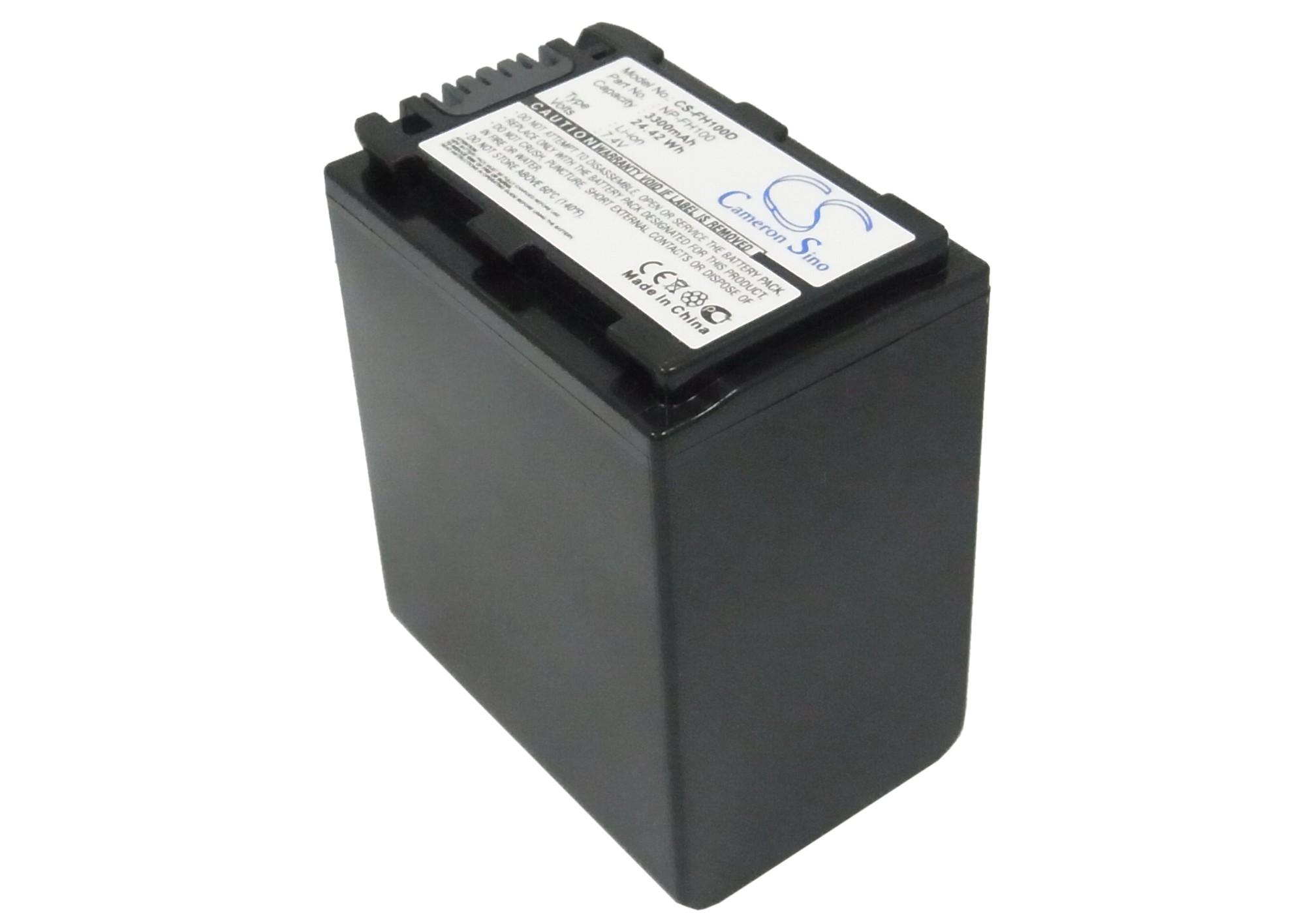 Cameron Sino baterie do kamer a fotoaparátů pro SONY DCR-SR90E 7.4V Li-ion 3300mAh tmavě šedá - neoriginální