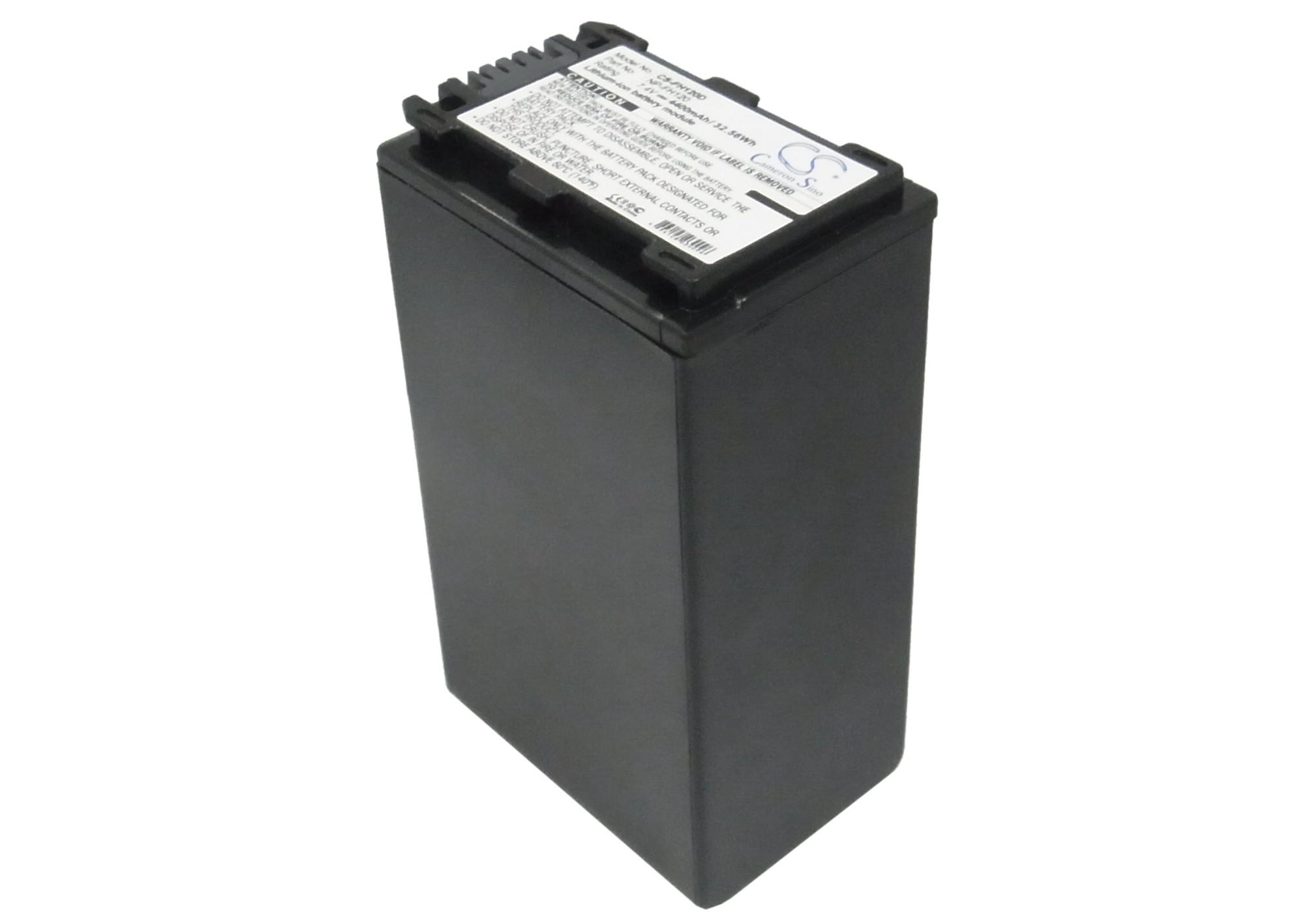 Cameron Sino baterie do kamer a fotoaparátů pro SONY DCR-DVD203E 7.4V Li-ion 4400mAh černá - neoriginální