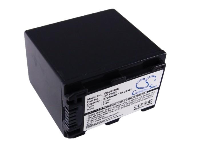 Cameron Sino baterie do kamer a fotoaparátů pro SONY DCR-HC85 7.4V Li-ion 2200mAh tmavě šedá - neoriginální
