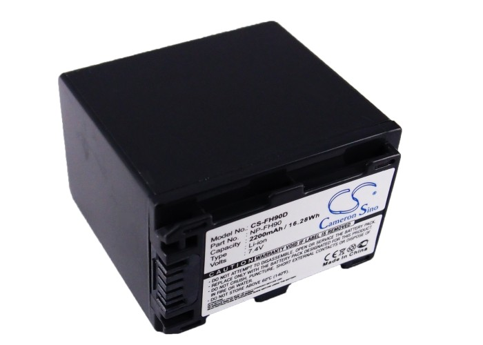 Cameron Sino baterie do kamer a fotoaparátů pro SONY HDR-UX20/E 7.4V Li-ion 2200mAh tmavě šedá - neoriginální