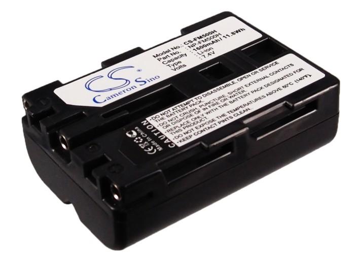 Cameron Sino baterie do kamer a fotoaparátů pro SONY SLT-A65V 7.4V Li-ion 1600mAh černá - neoriginální