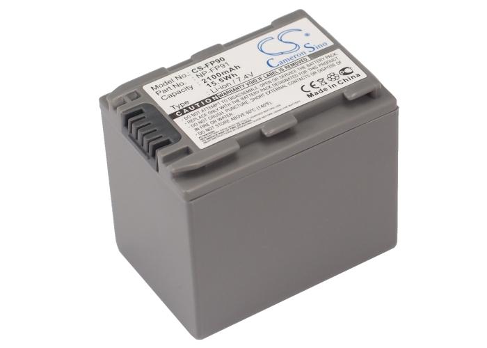 Cameron Sino baterie do kamer a fotoaparátů pro SONY DCR-HC85 7.4V Li-ion 2100mAh tmavě šedá - neoriginální