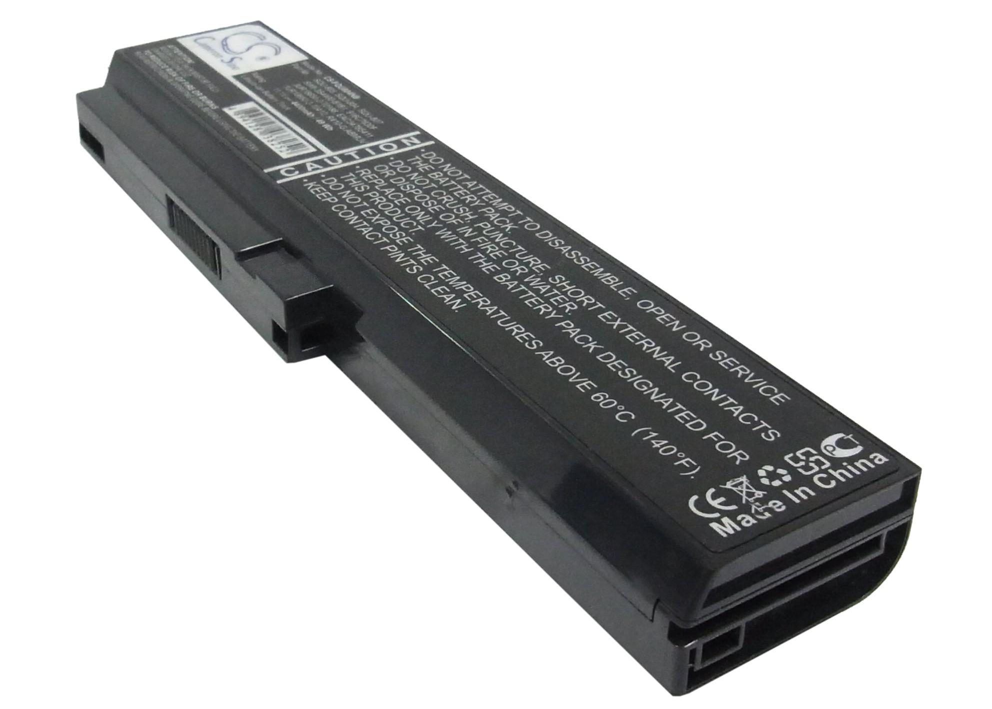 Cameron Sino baterie do notebooků pro LG XNote R510 11.1V Li-ion 4400mAh černá - neoriginální