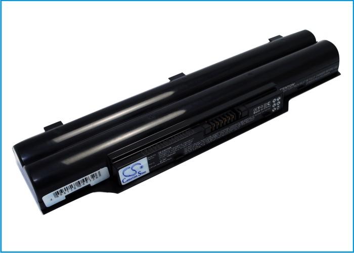Cameron Sino baterie do notebooků pro FUJITSU LifeBook E751/C 11.1V Li-ion 4400mAh černá - neoriginální
