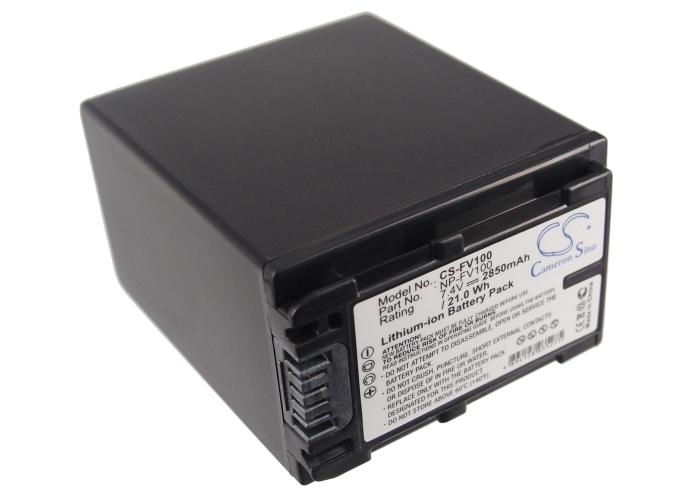 Cameron Sino baterie do kamer a fotoaparátů pro SONY DCR-SR68R 7.4V Li-ion 2850mAh černá - neoriginální