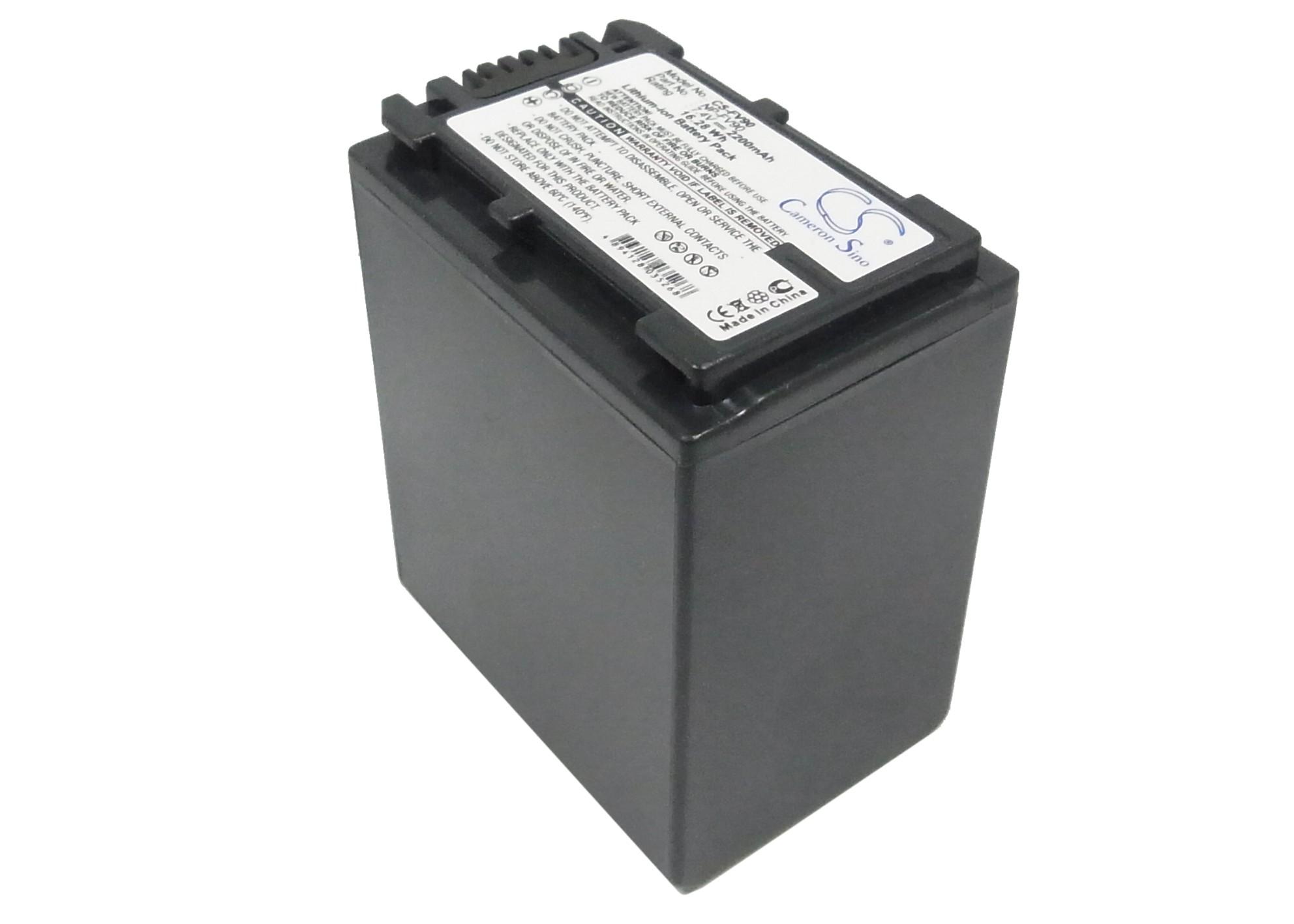 Cameron Sino baterie do kamer a fotoaparátů pro SONY DCR-SR68E 7.4V Li-ion 2200mAh černá - neoriginální