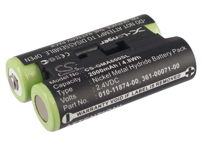 Cameron Sino baterie do navigací (gps) pro GARMIN Oregon 600 2.4V Ni-MH 2000mAh černá - neoriginální