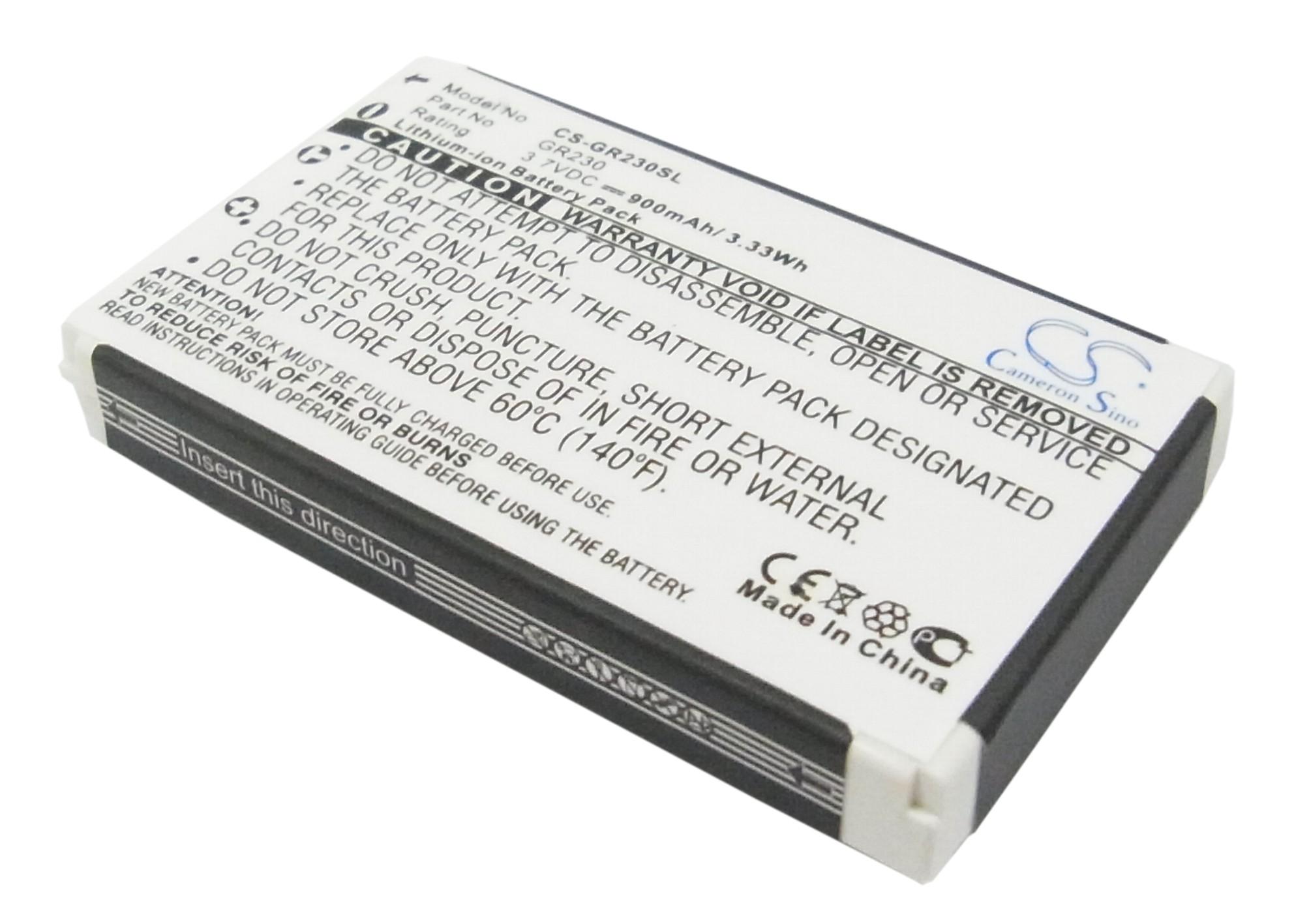 Cameron Sino baterie do navigací (gps) pro BELKIN Bluetooth GPS Receiver 3.7V Li-ion 900mAh šedá - neoriginální