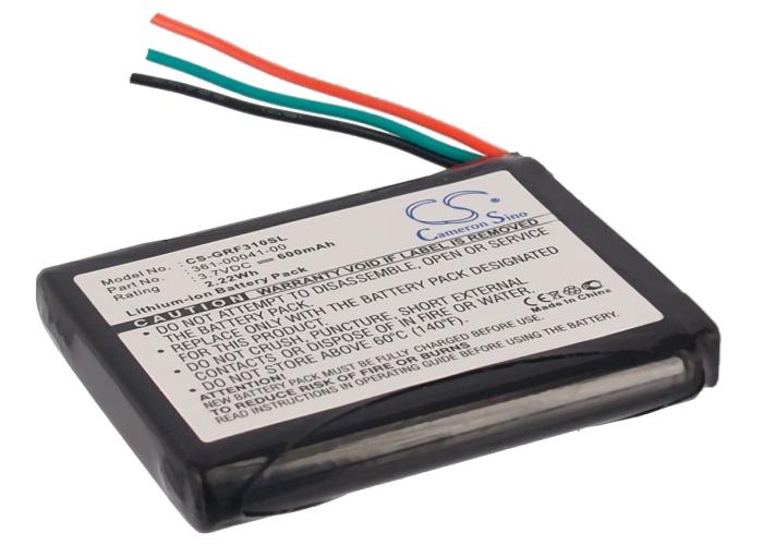 Cameron Sino baterie do navigací (gps) pro GARMIN Forerunner 310XT 3.7V Li-ion 600mAh černá - neoriginální