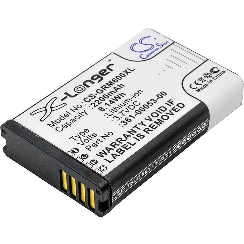 Cameron Sino baterie do navigací (gps) pro GARMIN Montana 650 3.7V Li-ion 2200mAh černá - neoriginální