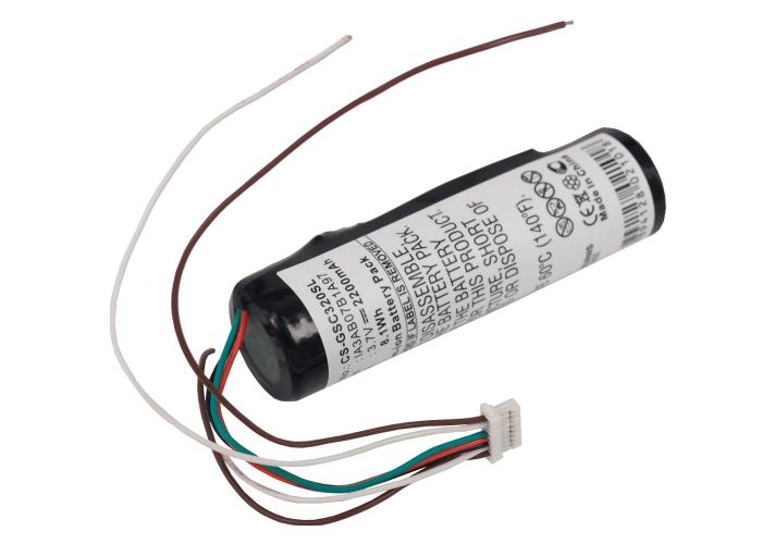 Cameron Sino baterie do navigací (gps) pro GARMIN StreetPilot C320 3.7V Li-ion 2200mAh černá - neoriginální