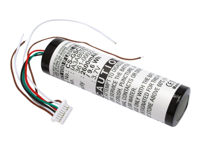 Cameron Sino baterie do navigací (gps) pro GARMIN StreetPilot C330 3.7V Li-ion 2600mAh černá - neoriginální