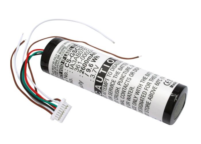 Cameron Sino baterie do navigací (gps) pro GARMIN StreetPilot C530 3.7V Li-ion 2600mAh černá - neoriginální