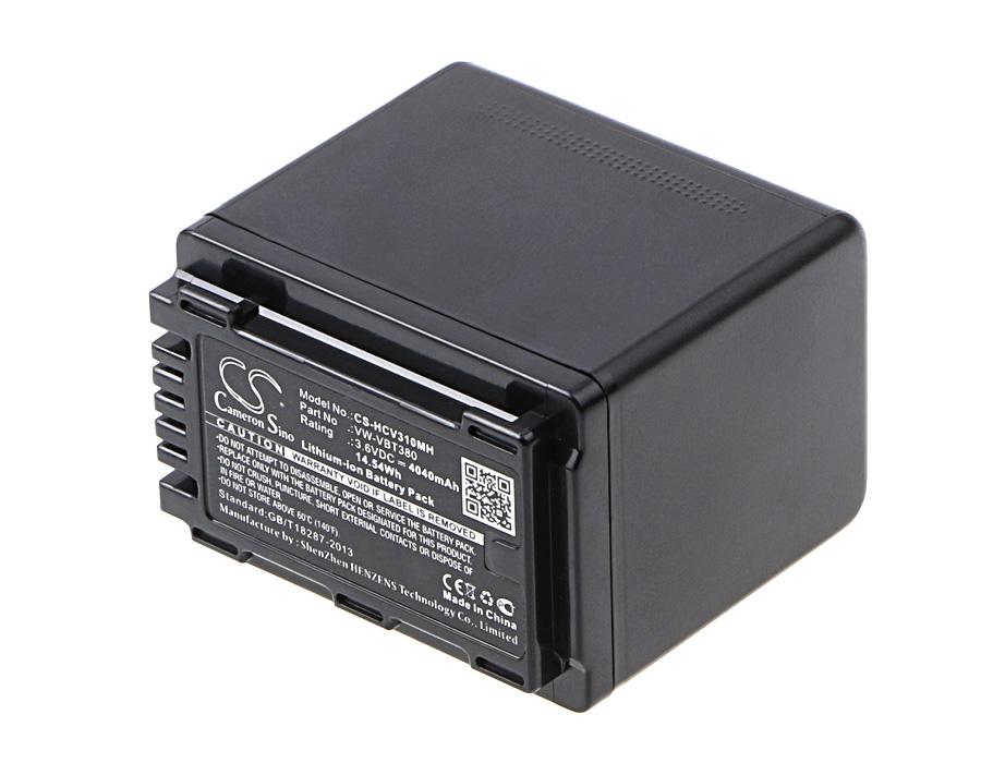 Cameron Sino baterie do kamer a fotoaparátů pro PANASONIC HC-VX870 3.6V Li-ion 4040mAh černá - neoriginální