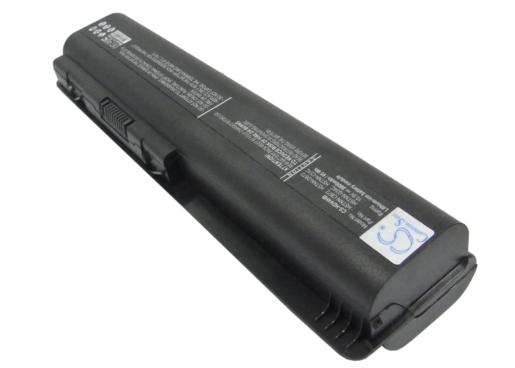 Cameron Sino baterie do notebooků pro COMPAQ Presario CQ60-400 10.8V Li-ion 8800mAh černá - neoriginální