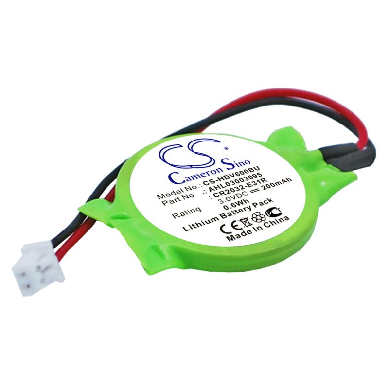 Cameron Sino baterie cmos pro HP Pavilion DV6500 3V Li-ion 200mAh zelená - neoriginální