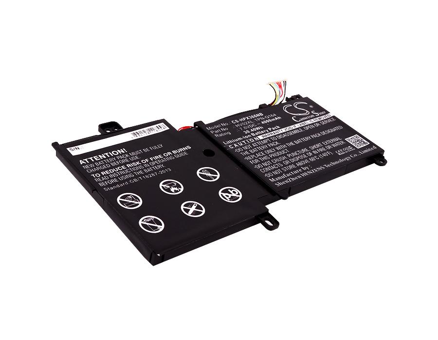 Cameron Sino baterie do notebooků pro HP Pavilion X360 11-K 7.6V Li-ion 4000mAh černá - neoriginální