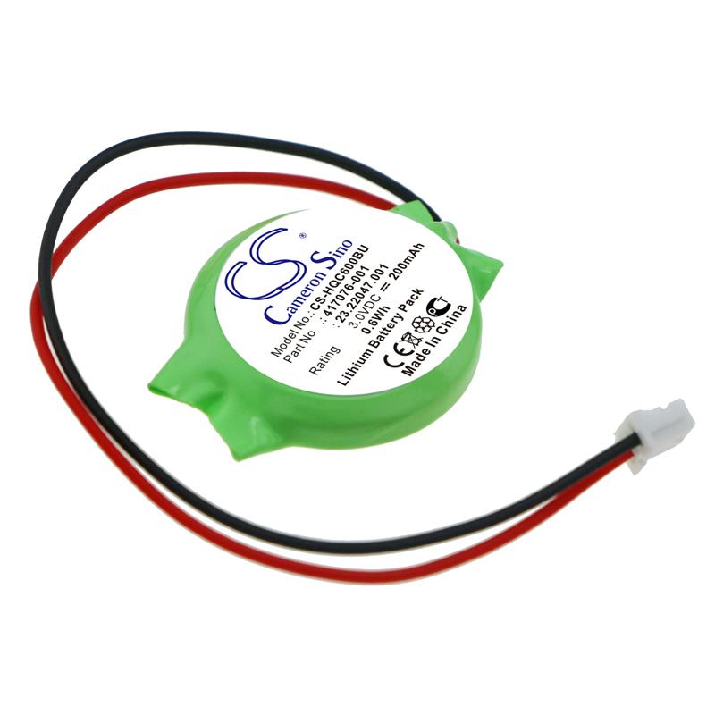 Cameron Sino baterie cmos pro COMPAQ Presario CQ60-320SA 3V Li-ion 200mAh zelená - neoriginální