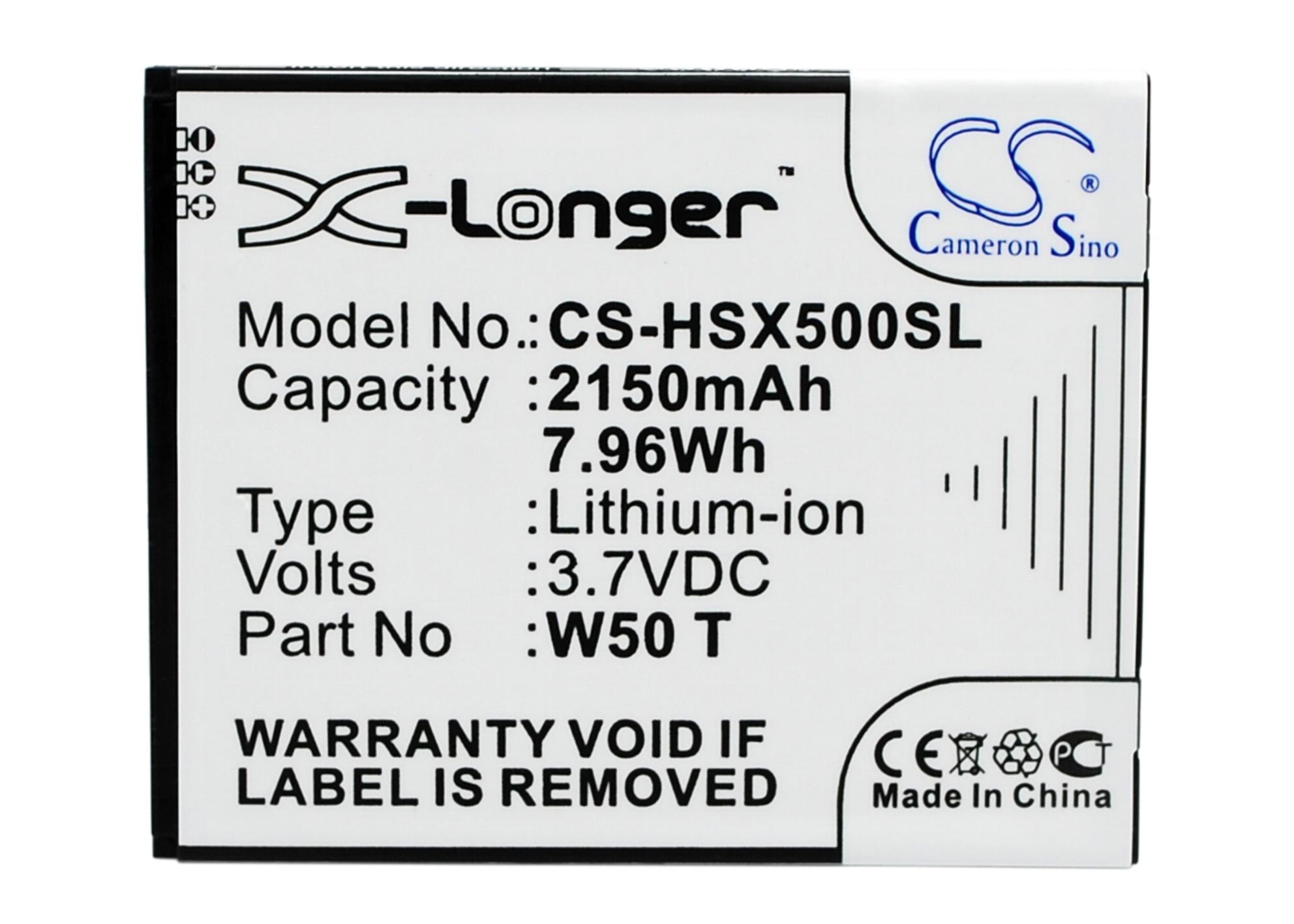 Cameron Sino baterie do mobilů pro ZOPO ZP980 3.7V Li-ion 2150mAh černá - neoriginální