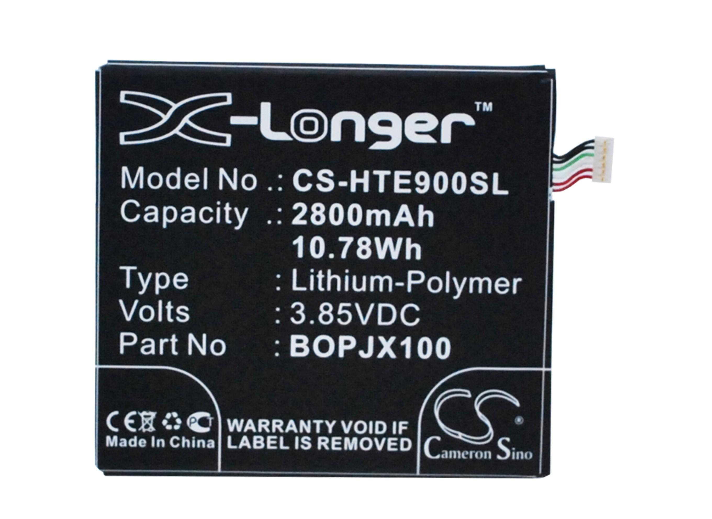Cameron Sino baterie do mobilů pro HTC One E9 Dual SIM 3.85V Li-Polymer 2800mAh černá - neoriginální