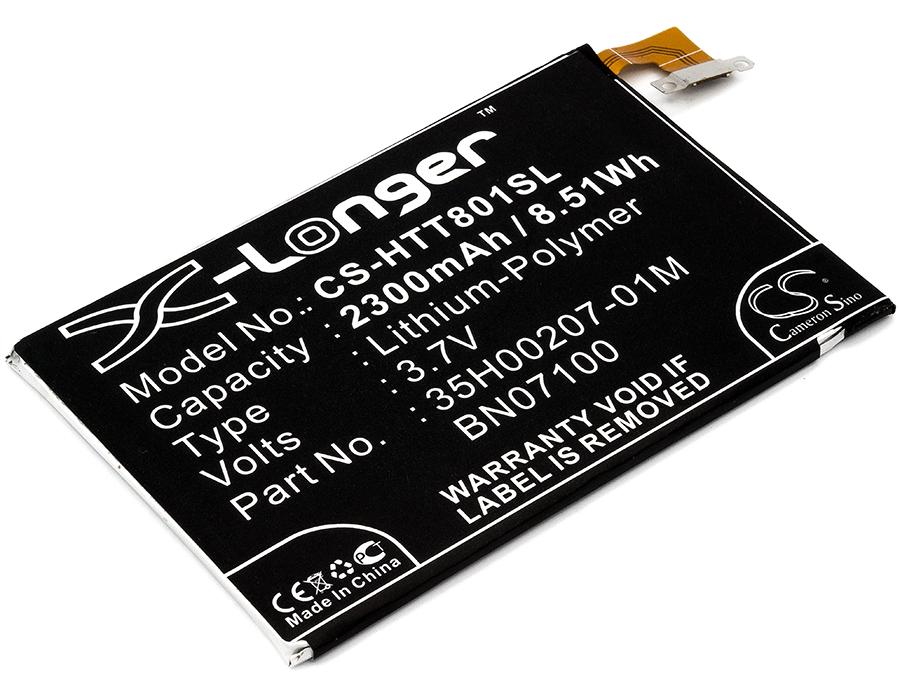 Cameron Sino baterie do mobilů pro HTC One Dual Sim 3.7V Li-Polymer 2300mAh černá - neoriginální