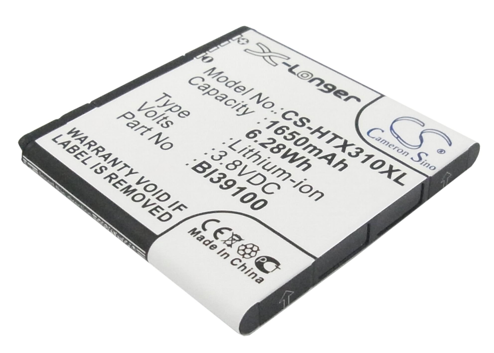 Cameron Sino baterie do mobilů pro HTC Sensation XL 3.8V Li-ion 1650mAh černá - neoriginální
