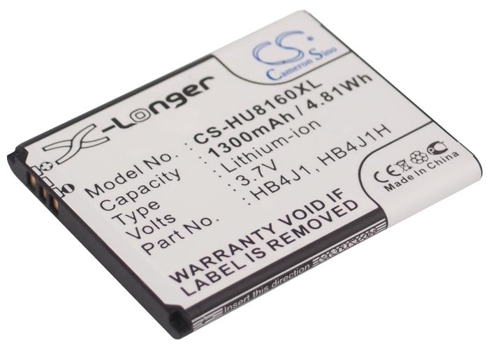 Cameron Sino baterie do mobilů pro HUAWEI Ideos X1 3.7V Li-ion 1300mAh černá - neoriginální