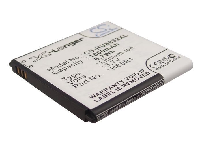 Cameron Sino baterie do mobilů pro HUAWEI Ascend P1 LTE 201HW 3.7V Li-ion 1800mAh černá - neoriginální