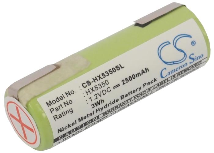 Cameron Sino baterie do zubních kartáčků pro BRAUN 6550 1.2V Ni-MH 2500mAh zelená - neoriginální