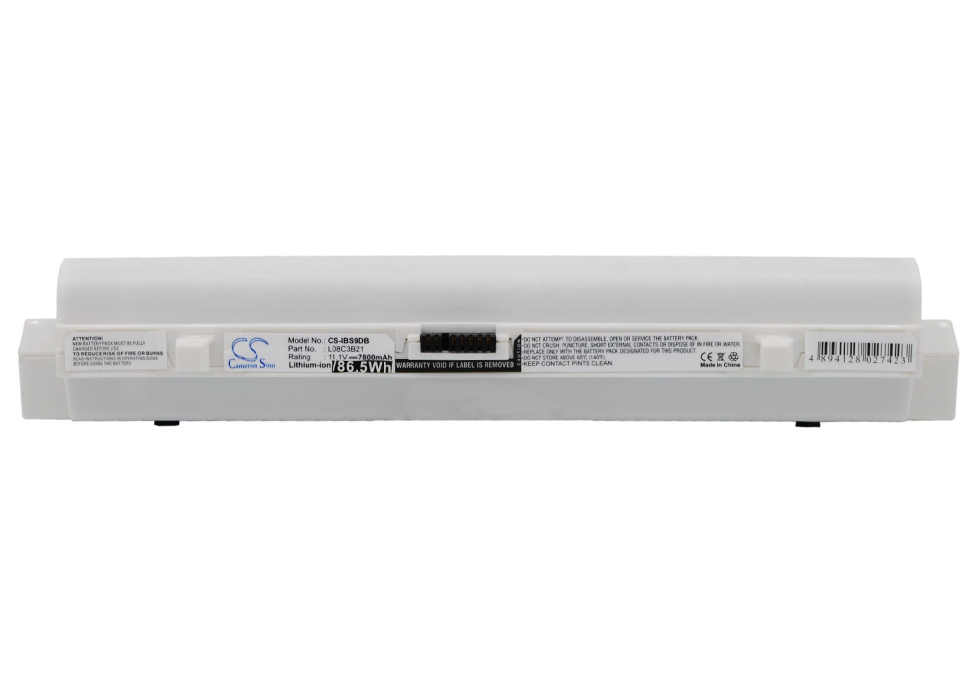 Cameron Sino baterie do notebooků pro LENOVO ideaPad S12 11.1V Li-ion 7800mAh bílá - neoriginální