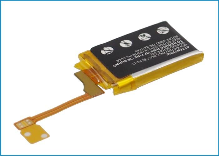 Cameron Sino baterie do mp3 přehrávačů pro APPLE ipod shuffle 3rd generation 3.7V Li-Polymer 73mAh černá - neoriginální
