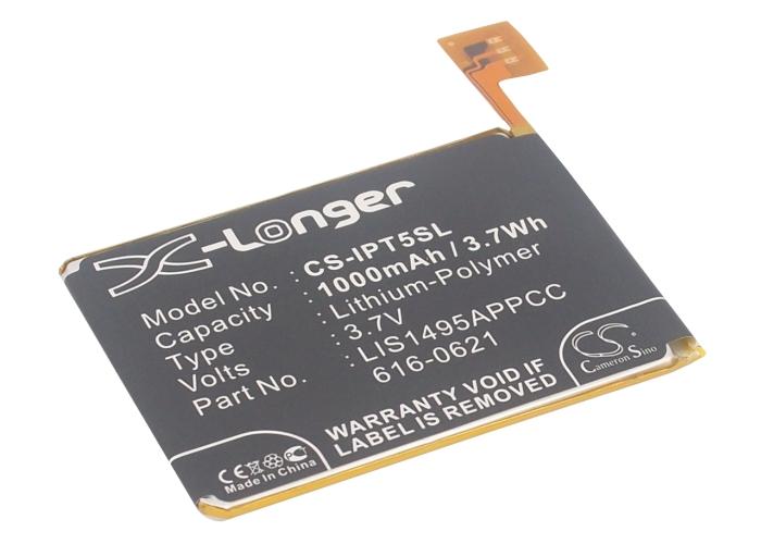 Cameron Sino baterie do mp3 přehrávačů pro APPLE iPod Touch 5th Generation 3.7V Li-Polymer 1000mAh černá - neoriginální
