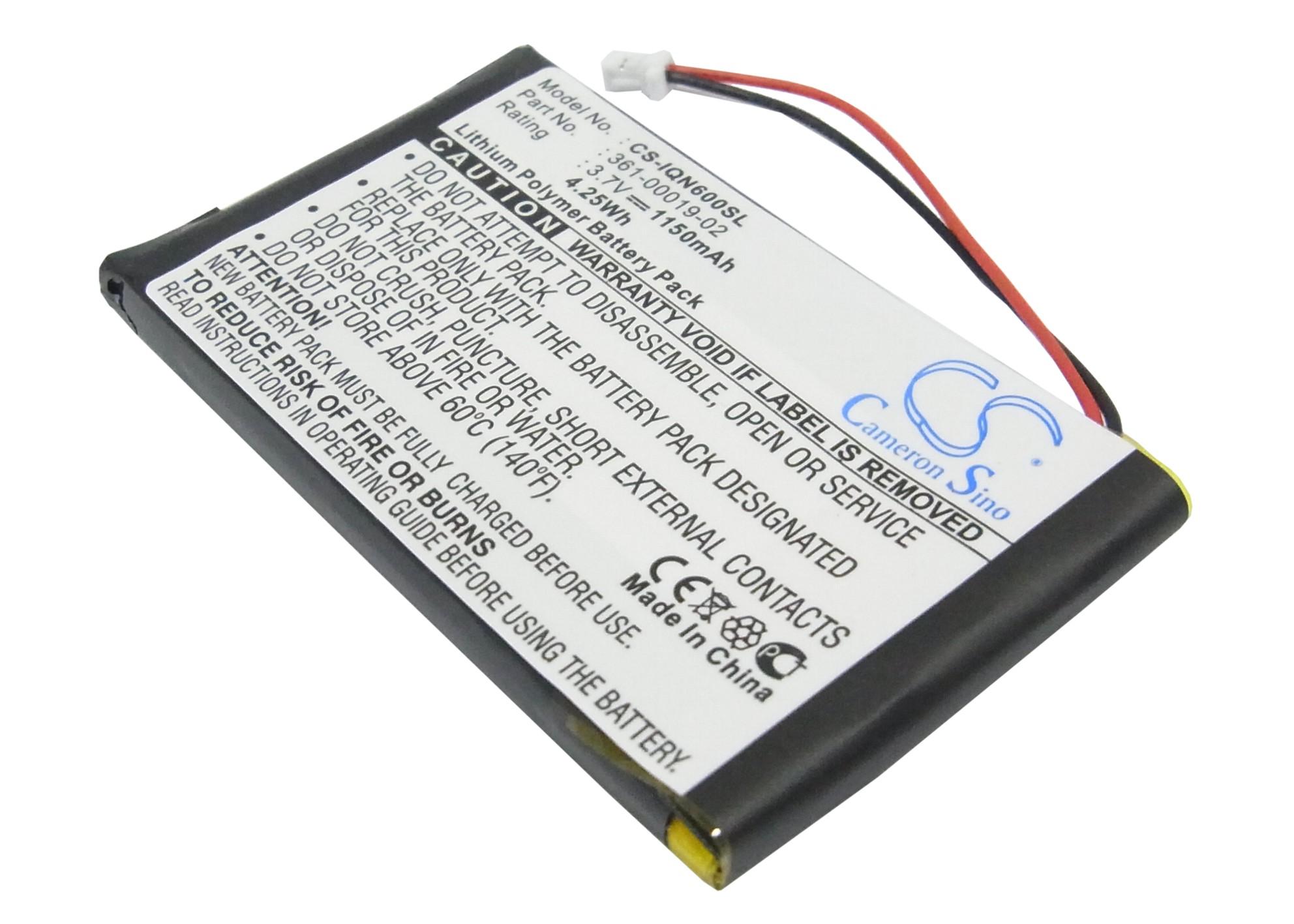Cameron Sino baterie do navigací (gps) pro GARMIN Nuvi 670 3.7V Li-Polymer 1150mAh černá - neoriginální