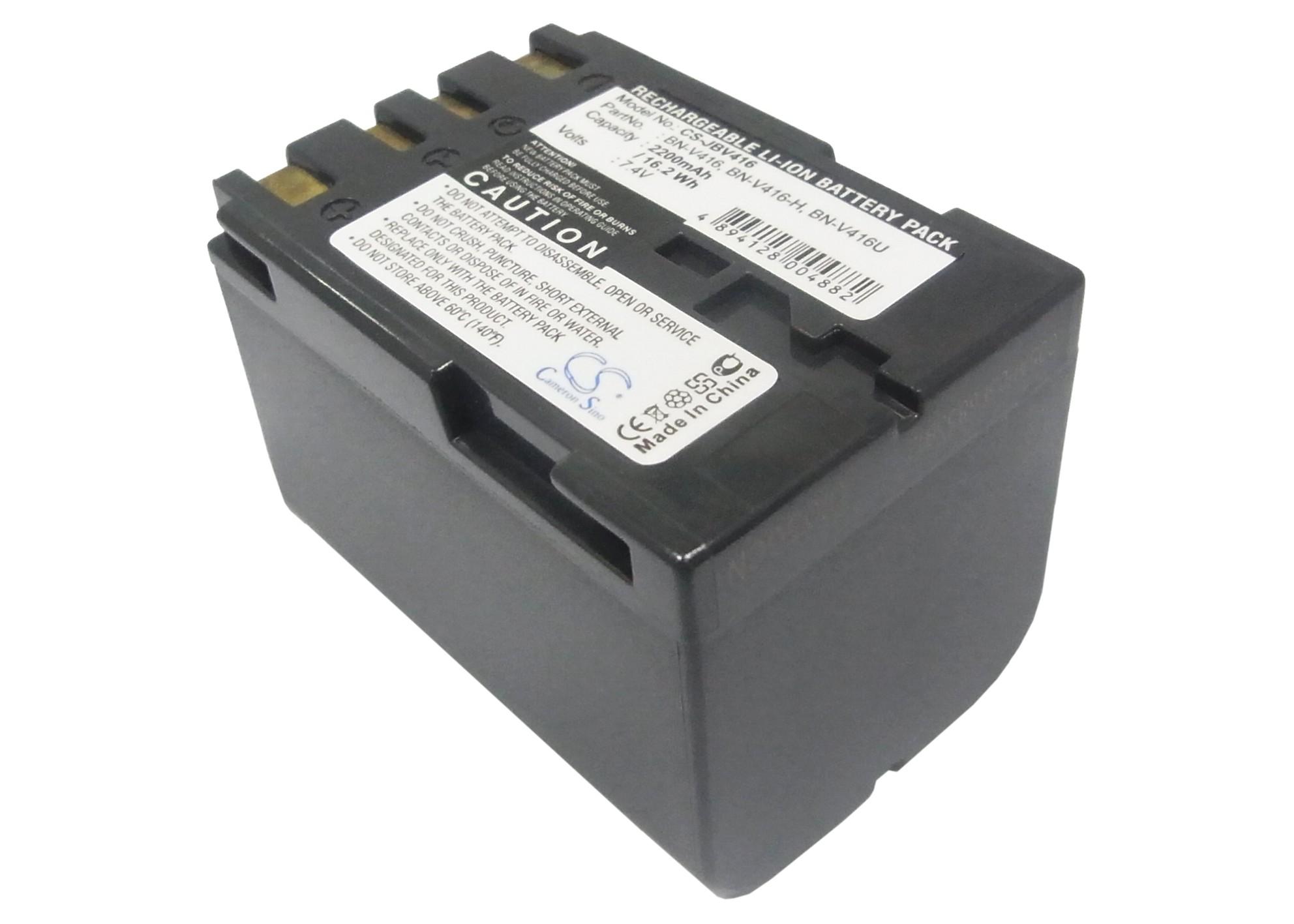Cameron Sino baterie do kamer a fotoaparátů pro JVC GR-D230 7.4V Li-ion 2200mAh tmavě šedá - neoriginální