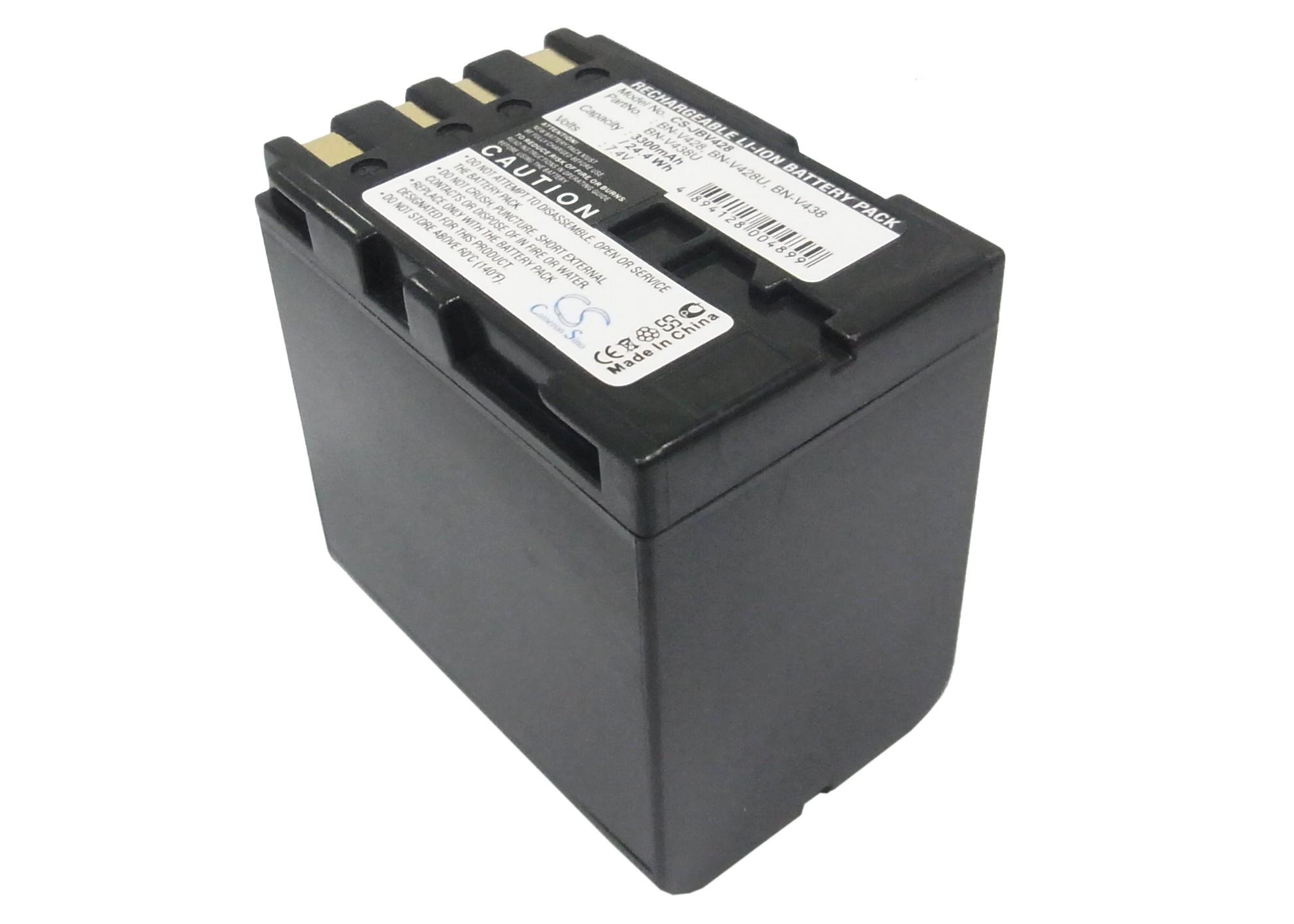 Cameron Sino baterie do kamer a fotoaparátů pro JVC GR-D21 7.4V Li-ion 3300mAh tmavě šedá - neoriginální