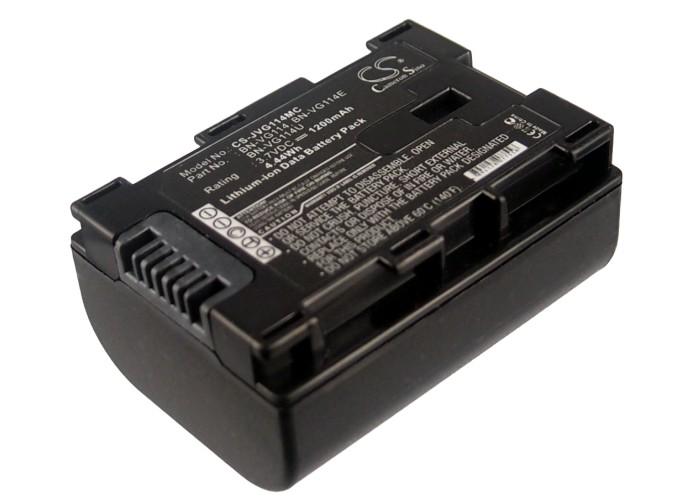 Cameron Sino baterie do kamer a fotoaparátů pro JVC GZ-HM330 3.7V Li-ion 1200mAh černá - neoriginální