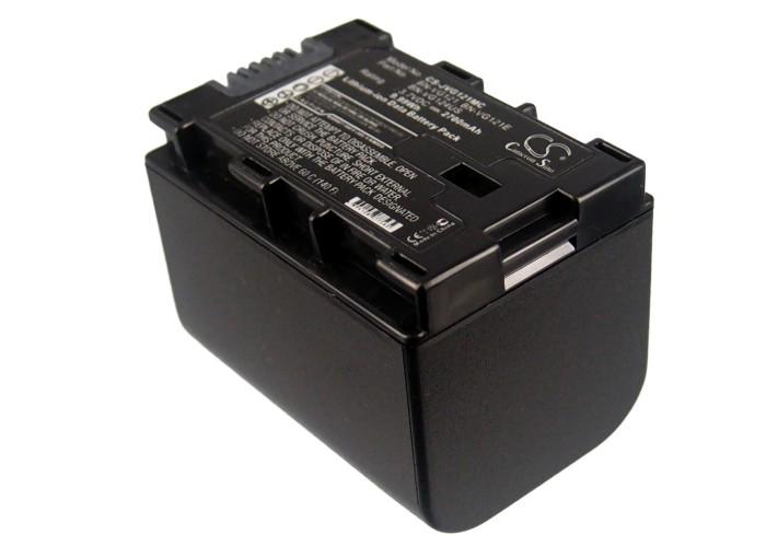 Cameron Sino baterie do kamer a fotoaparátů pro JVC GZ-HM330 3.7V Li-ion 2700mAh černá - neoriginální
