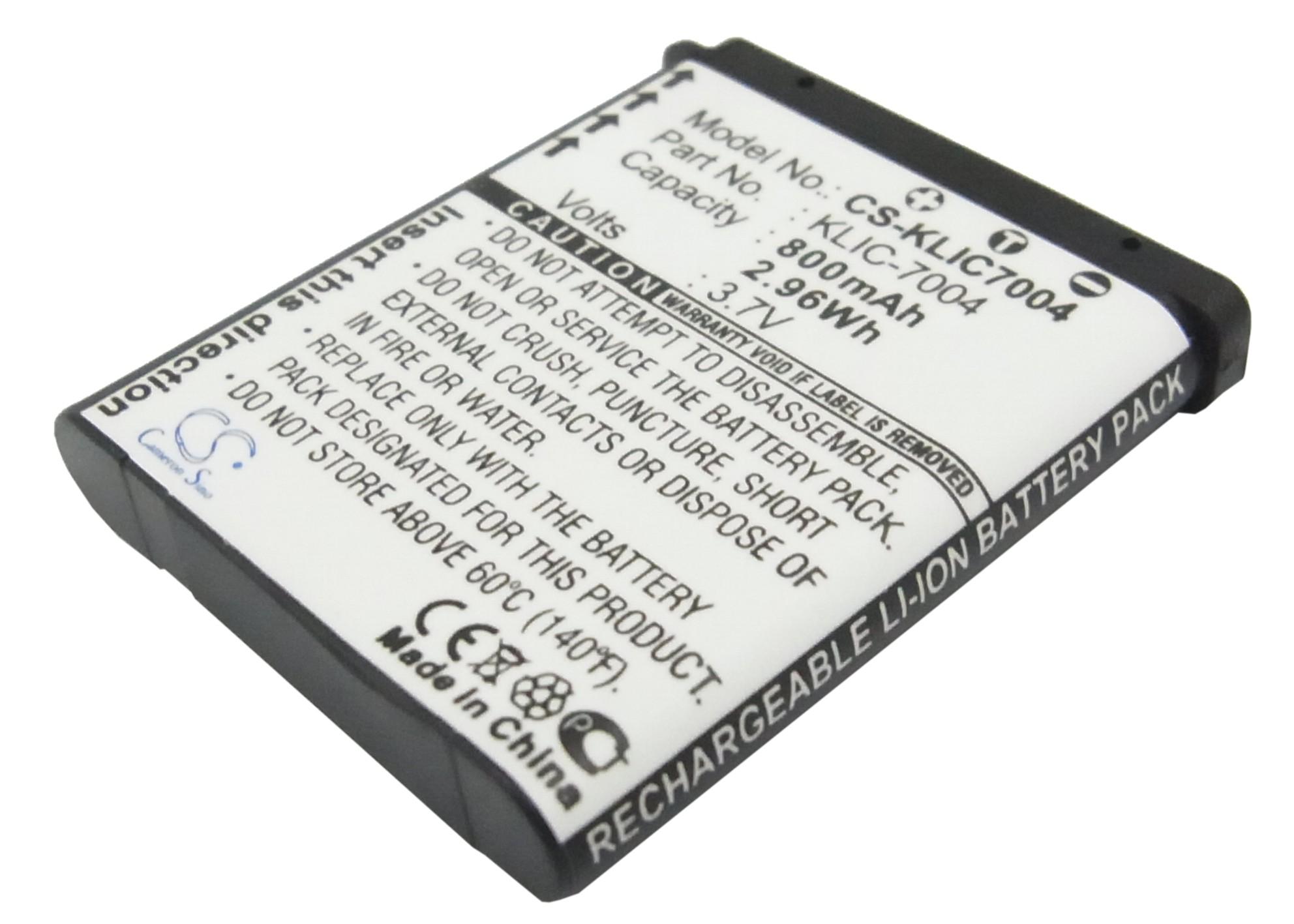 Cameron Sino baterie do kamer a fotoaparátů pro KODAK EasyShare V1253 3.7V Li-ion 800mAh černá - neoriginální