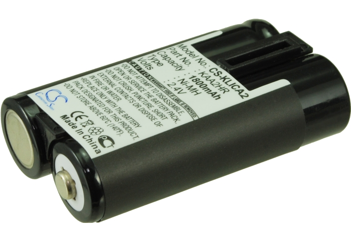 Cameron Sino baterie do kamer a fotoaparátů pro KODAK EasyShare C743 Zoom 2.4V Ni-MH 1800mAh černá - neoriginální