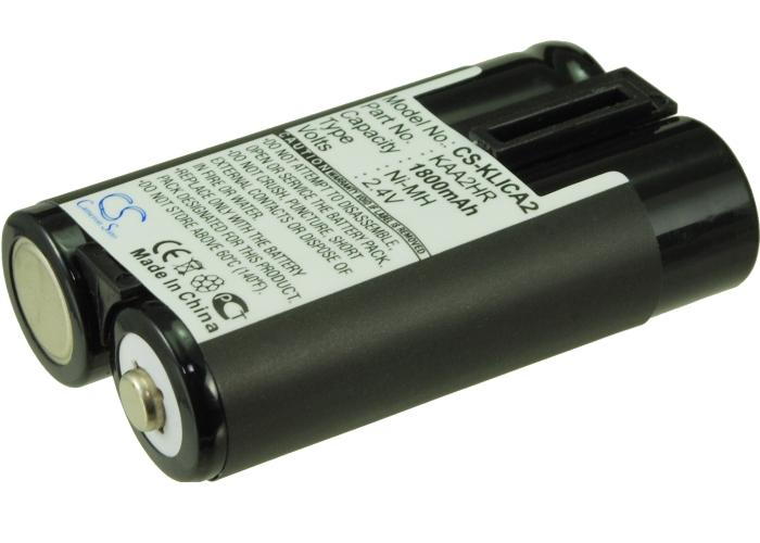 Cameron Sino baterie do kamer a fotoaparátů pro KODAK EasyShare C813 Zoom 2.4V Ni-MH 1800mAh černá - neoriginální