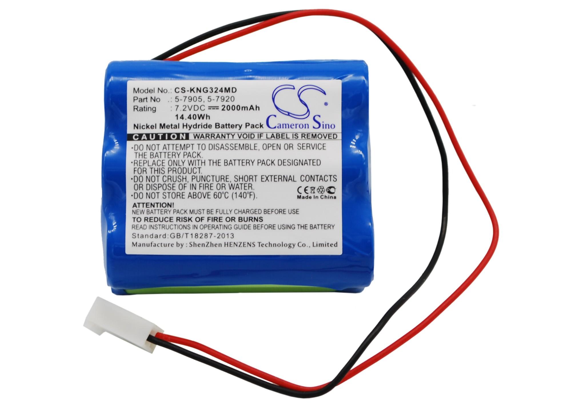 Cameron Sino baterie do zdravotnických zařízení pro KANGAROO Pump 324 7.2V Ni-MH 2000mAh modrá - neoriginální