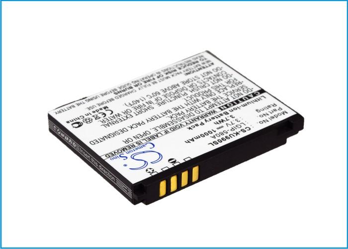 Cameron Sino baterie do mobilů pro LG KM900 3.7V Li-ion 1000mAh černá - neoriginální