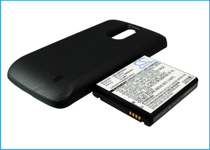 Cameron Sino baterie do mobilů pro LG Nitro HD 3.7V Li-ion 2850mAh černá - neoriginální