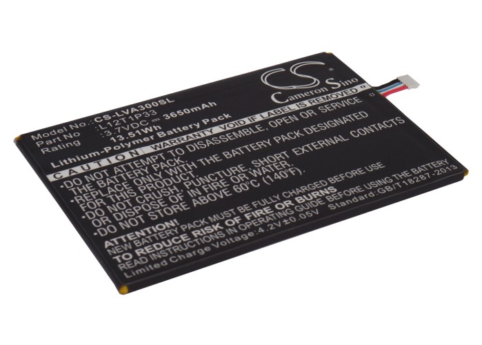 Cameron Sino baterie do tabletů pro LENOVO IdeaPad A3000 3.7V Li-Polymer 3650mAh černá - neoriginální