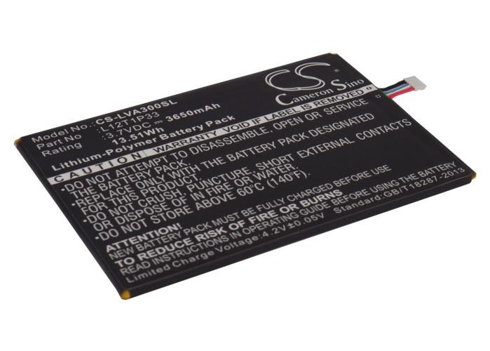 Cameron Sino baterie do tabletů pro LENOVO IdeaPad A3000-H 3.7V Li-Polymer 3650mAh černá - neoriginální