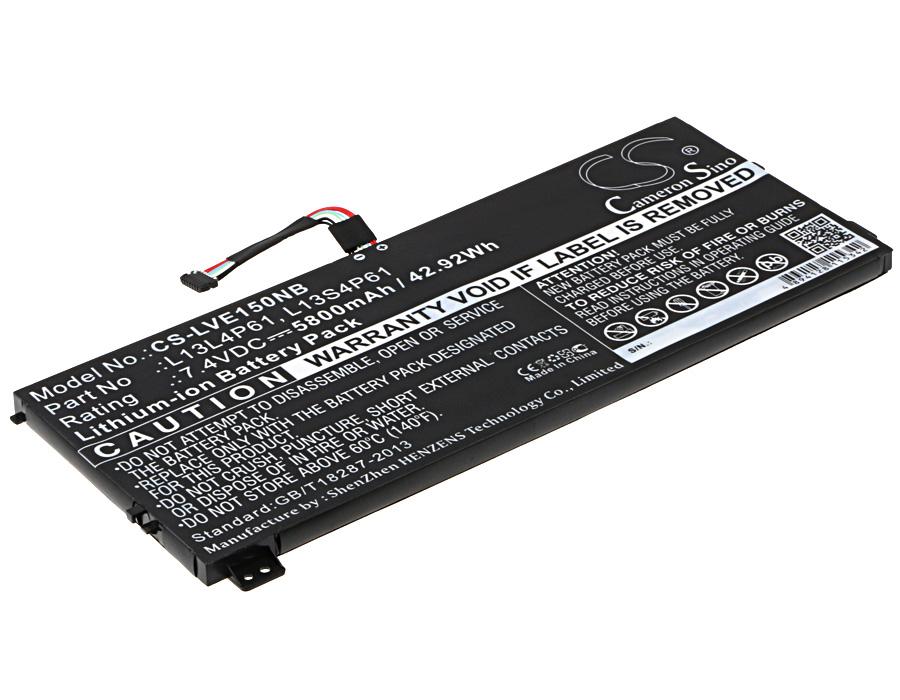 Cameron Sino baterie do notebooků pro LENOVO Edge 15 7.4V Li-ion 5800mAh černá - neoriginální