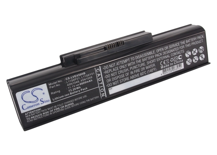 Cameron Sino baterie do notebooků pro LENOVO ThinkPad Edge E430 11.1V Li-ion 6600mAh černá - neoriginální