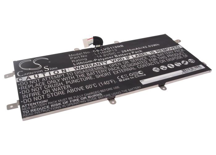 Cameron Sino baterie do notebooků pro LENOVO IdeaPad Yoga 11S 14.8V Li-Polymer 2840mAh černá - neoriginální