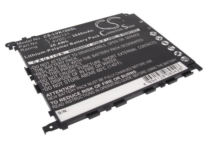 Cameron Sino baterie do tabletů pro LENOVO IdeaPad K1 7.4V Li-Polymer 3640mAh černá - neoriginální