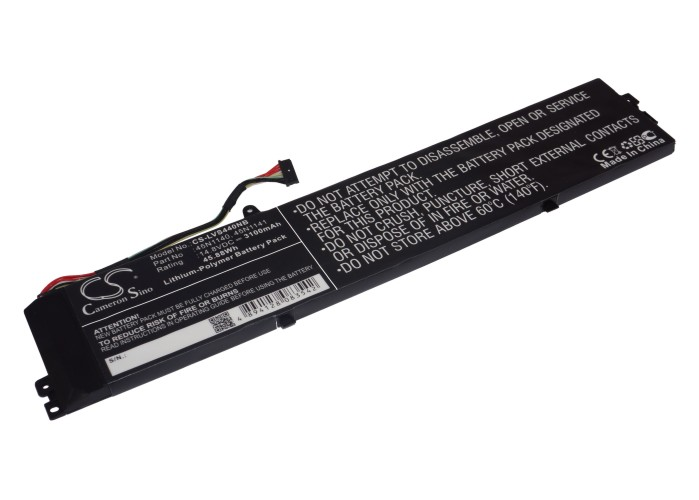 Cameron Sino baterie do notebooků pro LENOVO ThinkPad S440 20AY0019TW 14.8V Li-Polymer 3100mAh černá - neoriginální